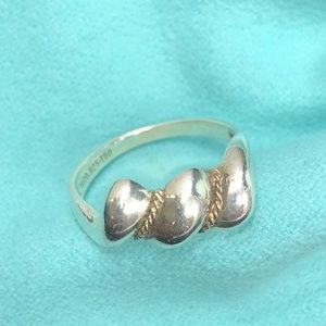 TC071 T&Co Sterling Silver Shell Dome Ring
